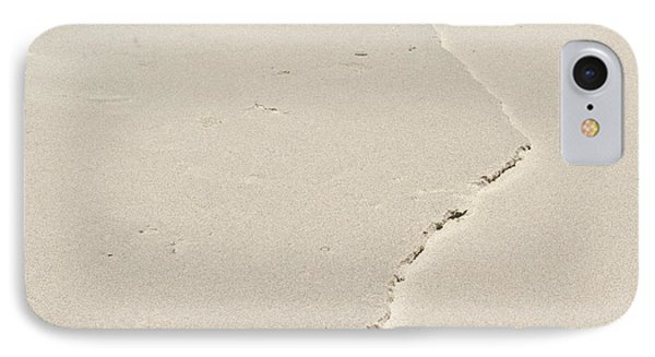 Ridge In The Sand At Big Sur Phone Case by Artist and Photographer Laura Wrede