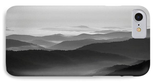 Ridges IPhone Case by Deborah Scannell