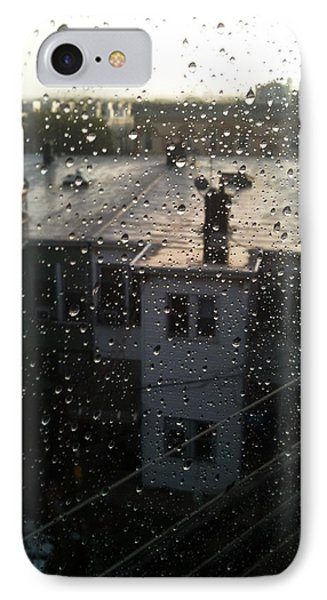 Ridgewood Houses Wet With Rain Phone Case by Mieczyslaw Rudek Mietko