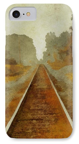 Riding The Rails IPhone Case by Dan Sproul