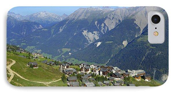 Riederalp Valais Swiss Alps Switzerland IPhone Case by Matthias Hauser