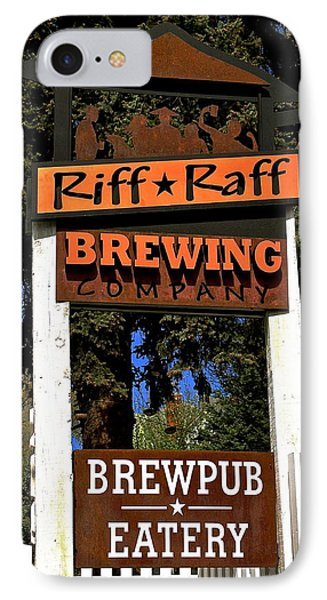 Riff Raff Brewing IPhone Case by Jeff Gater