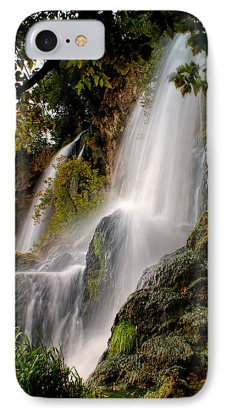 IPhone Case featuring the photograph Rifle Falls by Priscilla Burgers