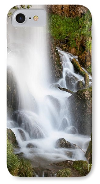 Rifle Falls IPhone Case by Steven Reed