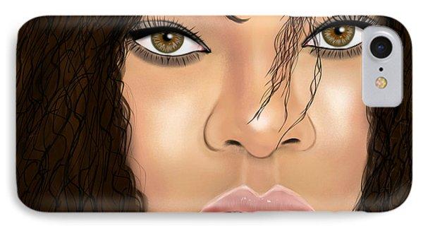 Rihanna Phone Case by Mathieu Lalonde