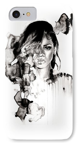 Rihanna Stay IPhone Case by Molly Picklesimer