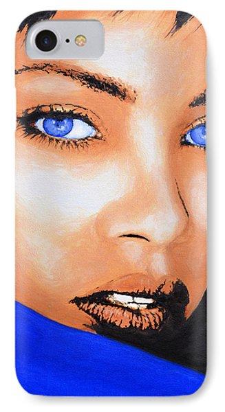 Rihanna Phone Case by Victor Minca