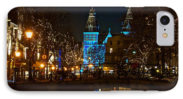 Rijksmuseum At Night IPhone Case by Jonah  Anderson