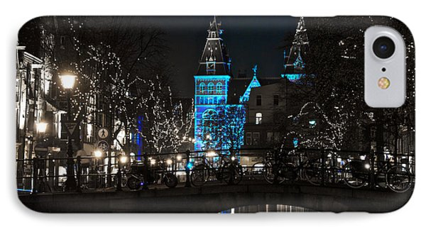 Rijksmuseum In Blue IPhone Case by Jonah  Anderson