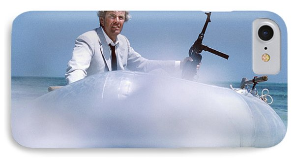 Rik Van Nutter Landing A Raft On The Set Of Thunderball IPhone Case by The Harrington Collection