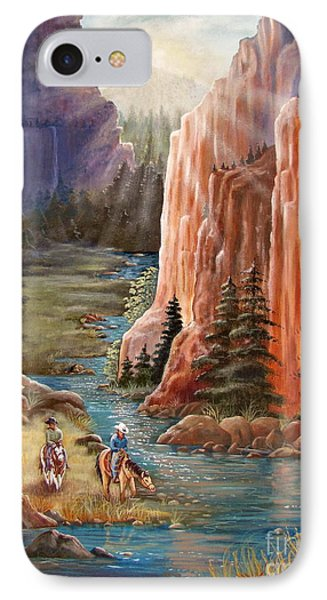 Rim Canyon Ride Phone Case by Marilyn Smith