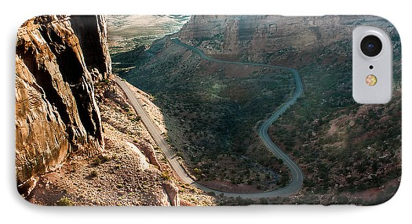 Rim Rock Drive IPhone Case by Jay Stockhaus