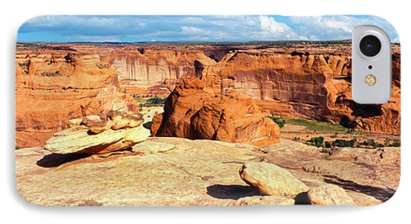 Rim View Of Canyon De Chelly National IPhone Case by Panoramic Images