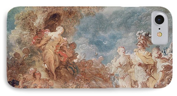 Rinaldo In The Gardens Of Armida Oil On Canvas See Also 250309 IPhone Case