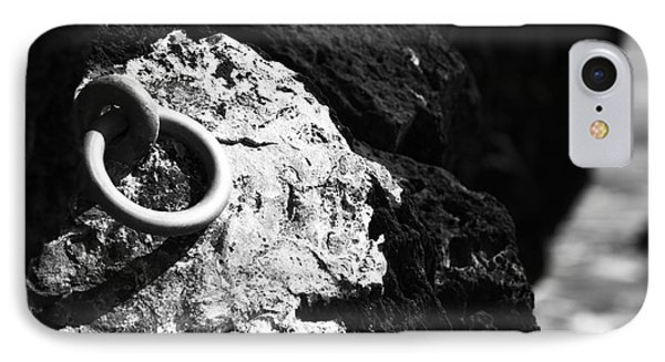 Ring And Rock IPhone Case by Anne Gilbert