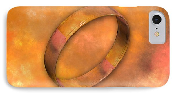 Ring IPhone Case by Betsy Knapp