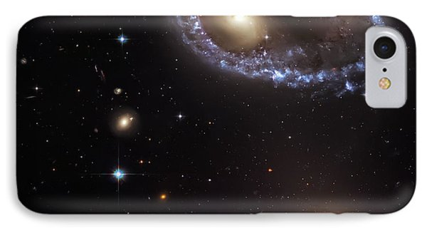 Ring Galaxy Phone Case by Jennifer Rondinelli Reilly - Fine Art Photography