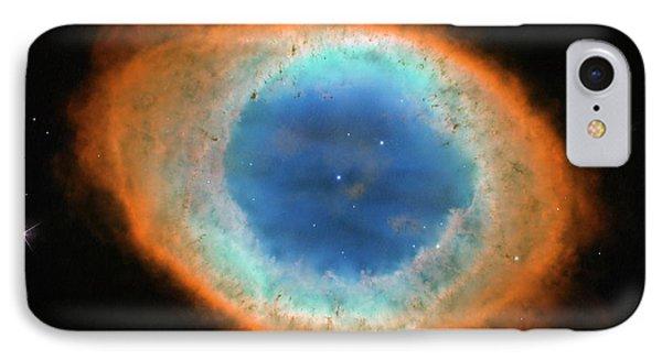 Ring Nebula M57 IPhone Case by Nasa/esa/hubble Heritage Team/stsci/aura