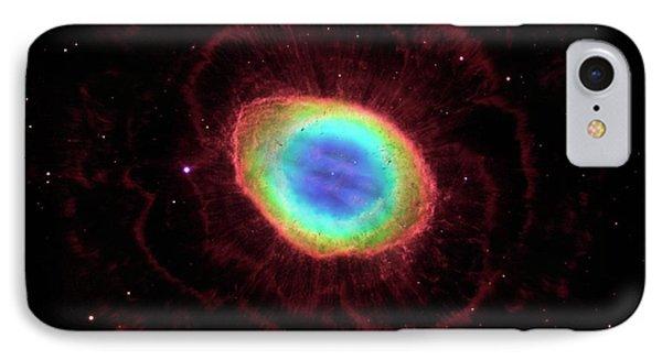 Ring Nebula M57 IPhone Case by Nasa/esa/stsci