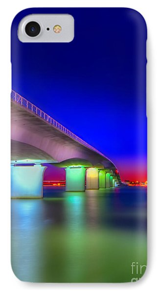 Ringling Bridge IPhone Case by Marvin Spates