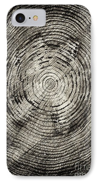 Tree iPhone 7 Case - Rings Of Time  by Tim Gainey
