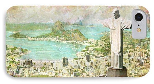 Rio De Janeiro IPhone Case by Catf