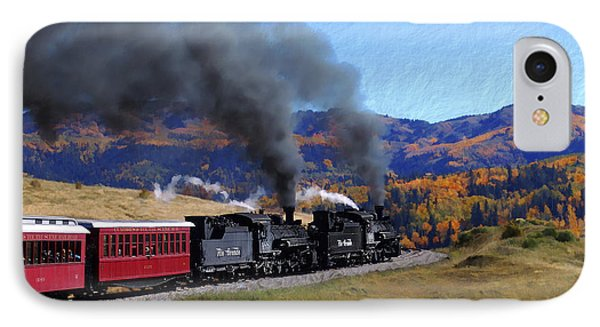 Rio Grande 488 And 489 IPhone Case by Kurt Van Wagner