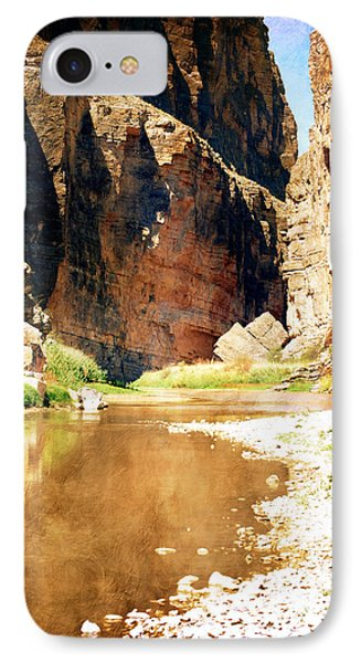 Rio Grande At Santa Elena Canyon IPhone Case