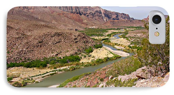 Rio Grande IPhone Case by Christine Till