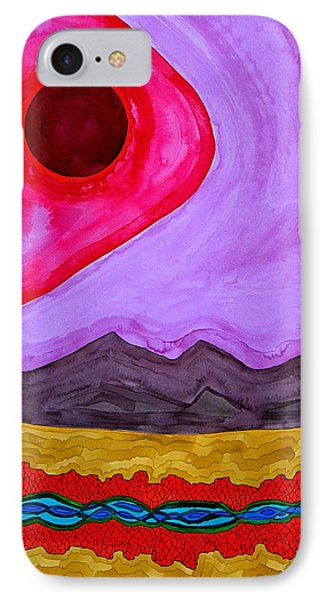Rio Grande Gorge Original Painting Phone Case by Sol Luckman