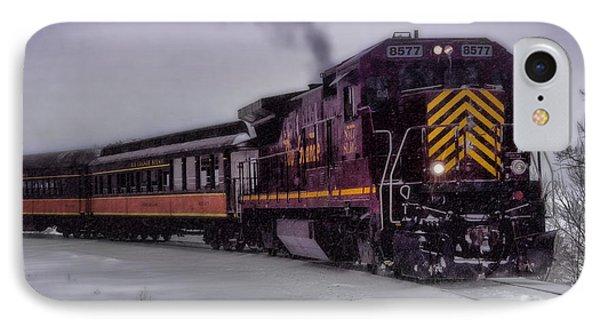 Rio Grande Scenic Railroad Phone Case by Ellen Heaverlo