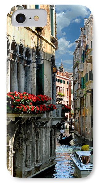 IPhone Case featuring the photograph Rio Menuo O De La Verona. Venice by Jennie Breeze