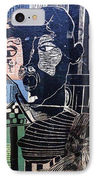 Rio Mural IPhone Case by Matthew Bamberg