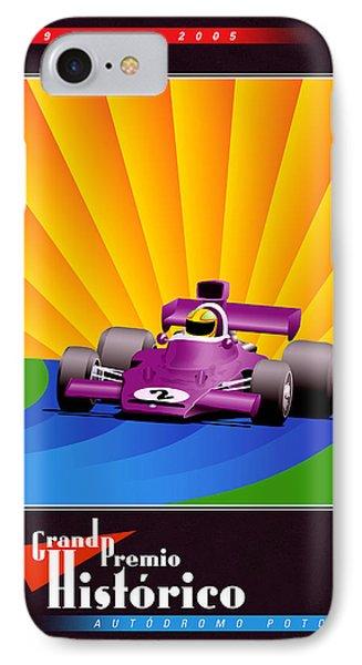 Rio Verde Mexico Historic Grand Prix IPhone Case by Georgia Fowler