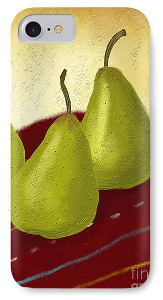 Ripe And Ready Painting IPhone Case by Linda Lees
