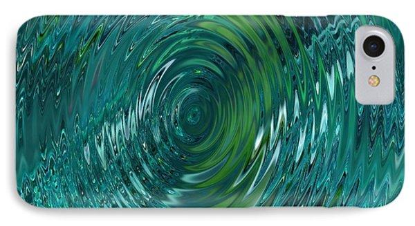 Ripple Sea Glass  Phone Case by Christine Fournier
