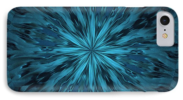 Ripple Star IPhone Case by Donna Brown