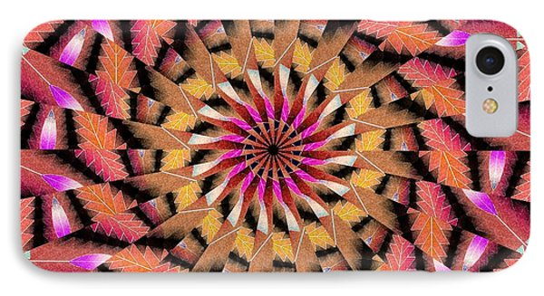 Rippled Source Kaleidoscope IPhone Case