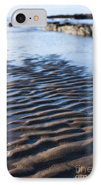 Ripples In The Sand Phone Case by Anne Gilbert