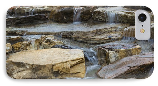 Ripples Of Water IPhone Case by Michael Waters