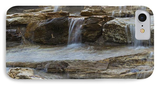 Ripples Of Water Panoramic IPhone Case by Michael Waters