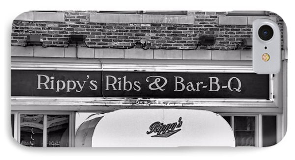 Rippy's Ribs And Bar Bq Phone Case by Dan Sproul