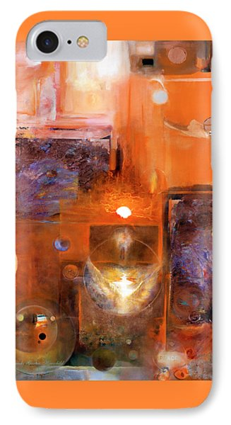 IPhone Case featuring the painting Rise And Shine 1 by Brooks Garten Hauschild