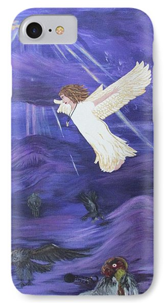 Rising Above IPhone Case by Cheryl Bailey