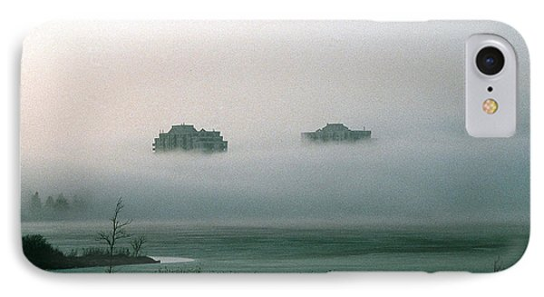 IPhone Case featuring the photograph Rising From The Mist by David Porteus