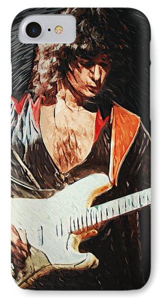 Ritchie Blackmore IPhone Case by Taylan Apukovska