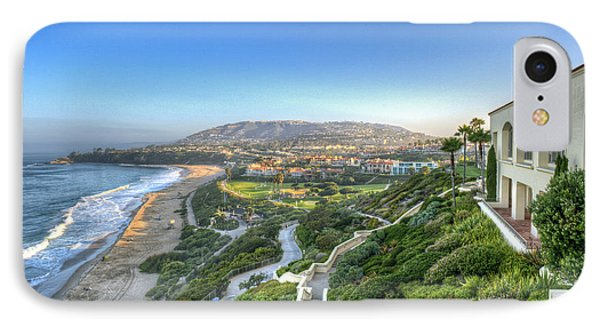 Ritz-carlton Laguna Niguel Ocean View IPhone Case by David Zanzinger