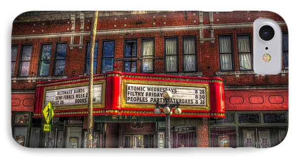 Ritz Ybor Theater IPhone Case by Marvin Spates