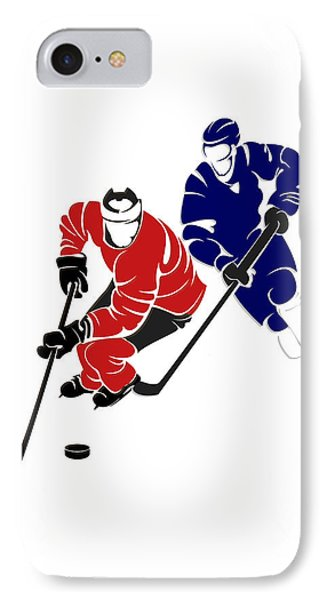 Rivalries Senators And Maple Leafs IPhone Case