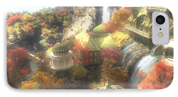 Rivendell IPhone Case by Cynthia Decker